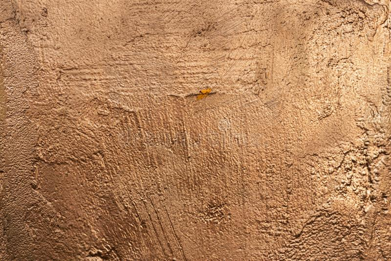 铜石被绘的纹理外部1 库存照片