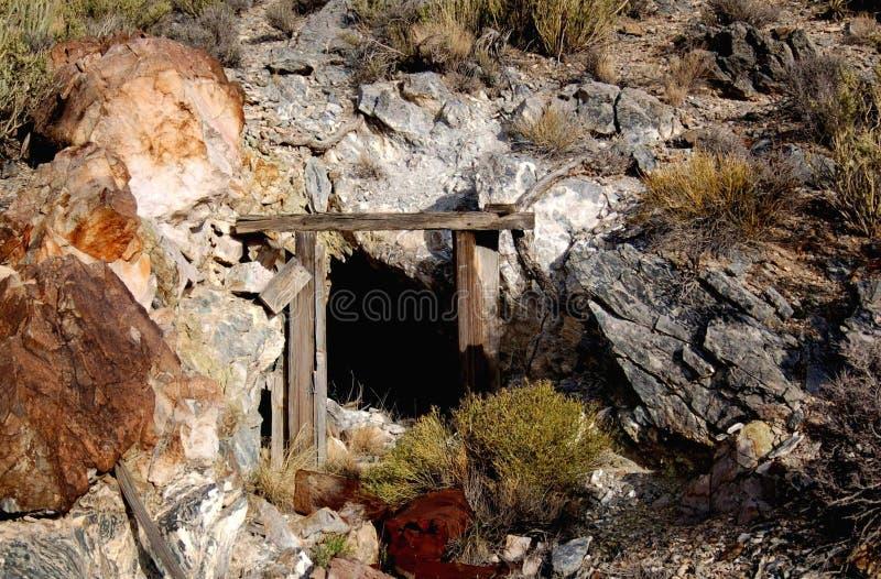铜矿世界 免版税库存照片