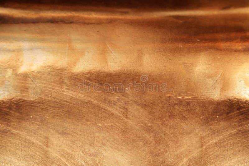 铜纹理背景 免版税库存照片
