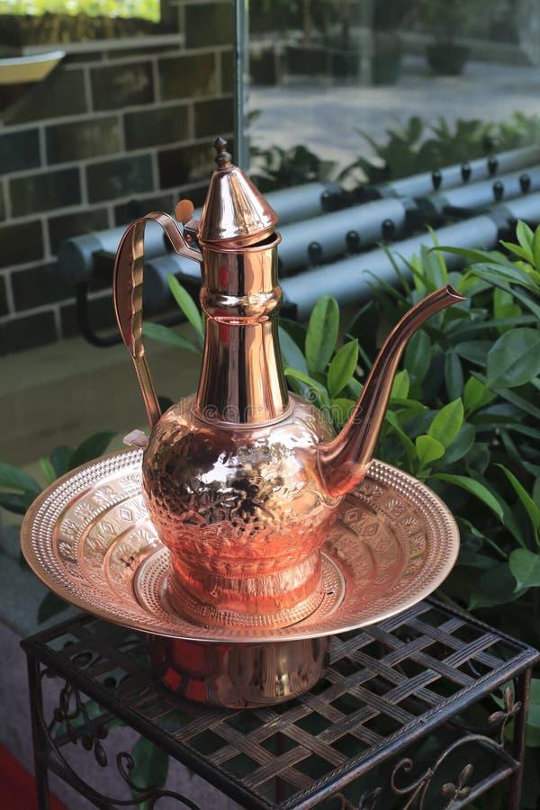铜水壶 库存图片