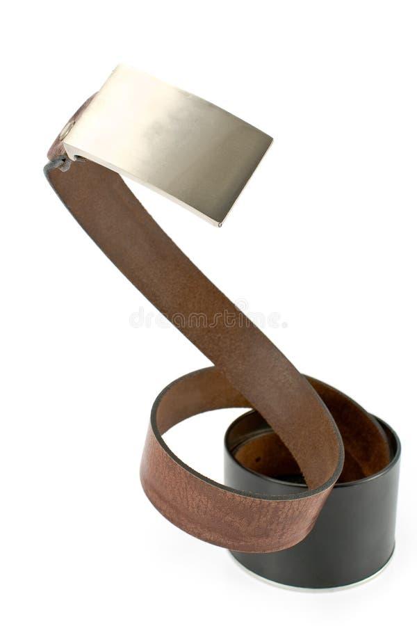 铝传送带配件箱皮革s妇女 免版税库存图片