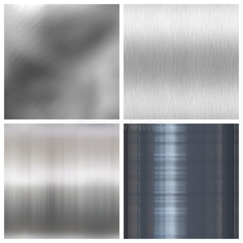 铝掠过的装箱种类 库存例证