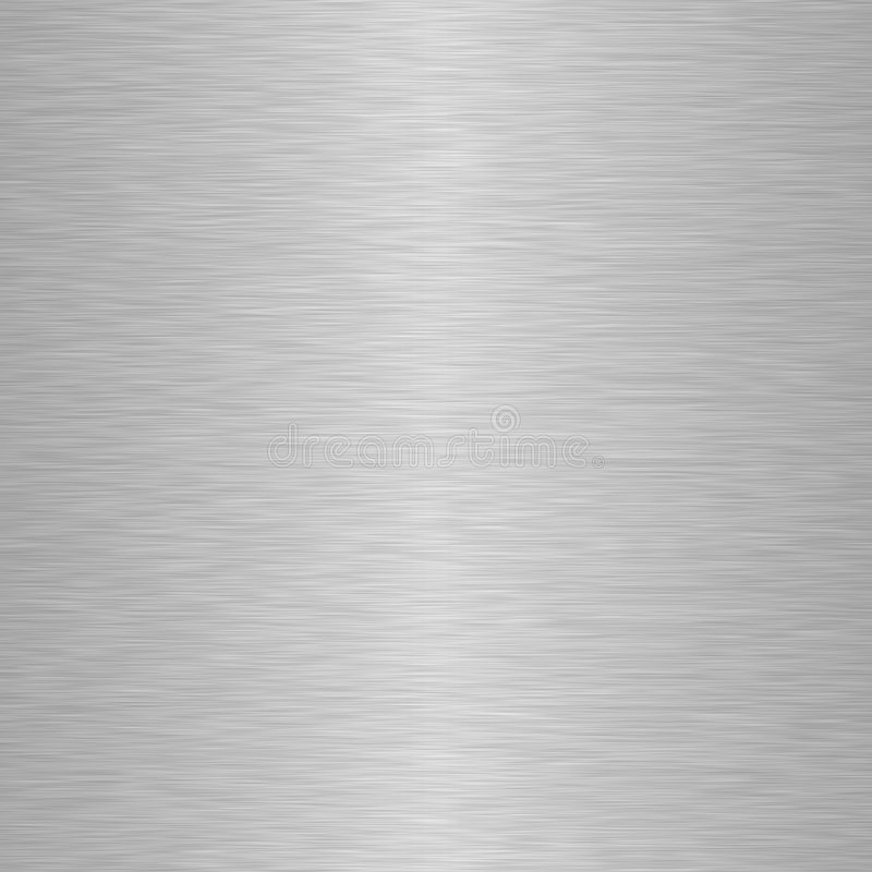 铝背景金属正方形 库存例证