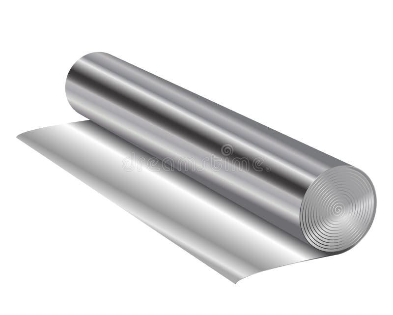 铝芯 皇族释放例证
