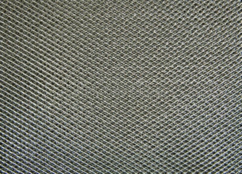 铝过滤器,金属表面 库存照片