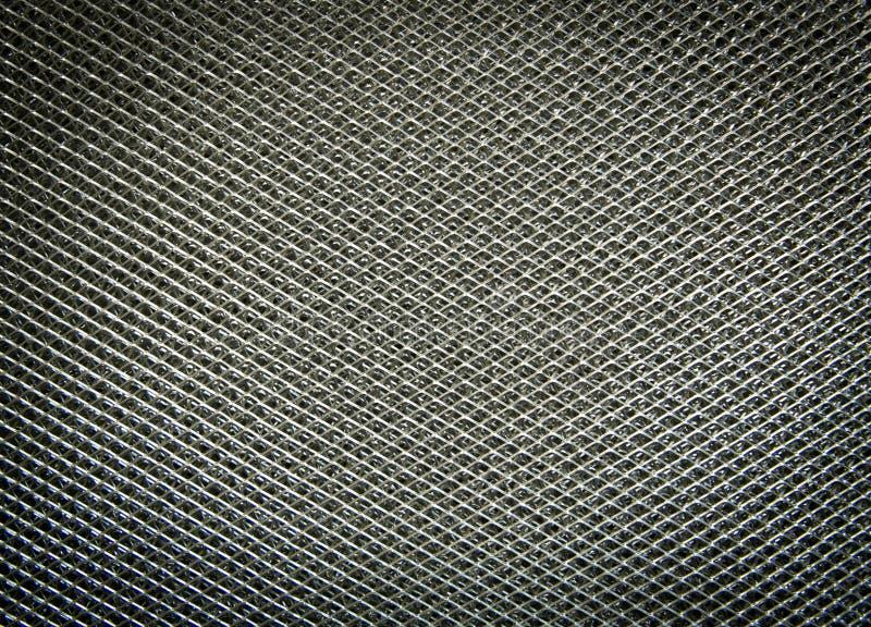 铝过滤器,金属表面 库存图片