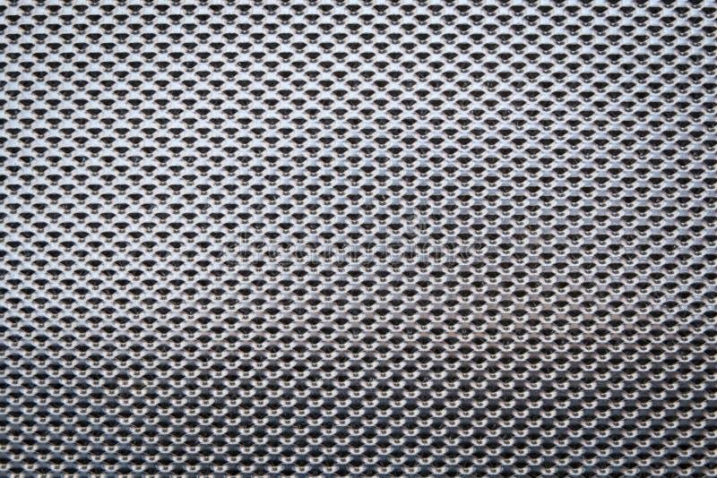 铝过滤器,金属表面 免版税库存图片