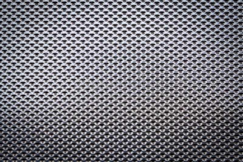 铝过滤器,金属表面 免版税图库摄影