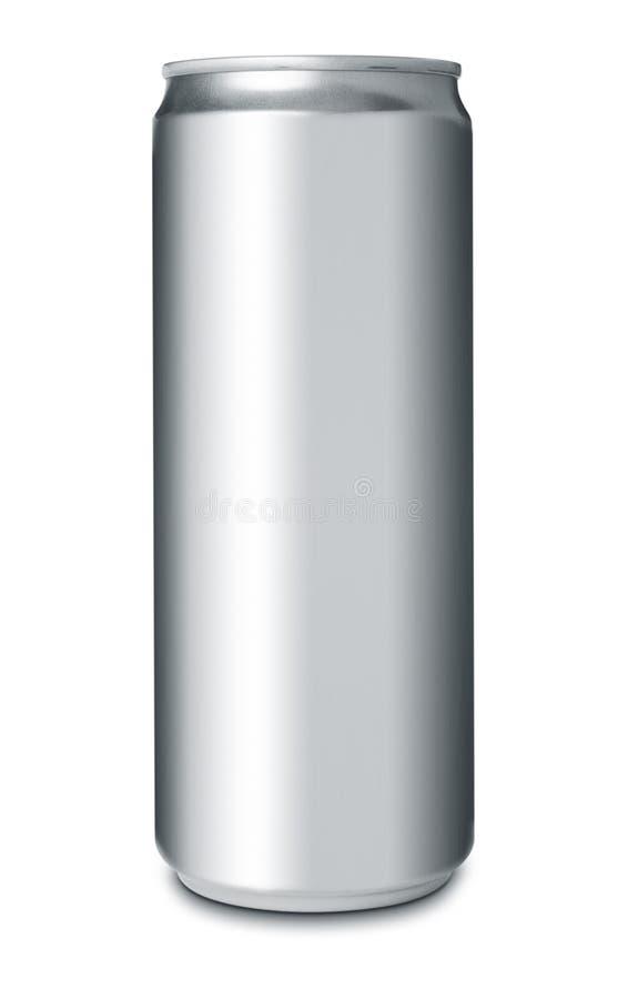 铝饮料罐头 库存照片