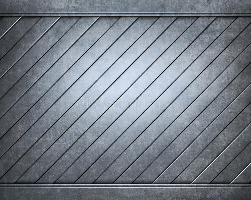 铝backgro有用掠过的金属的牌照 皇族释放例证
