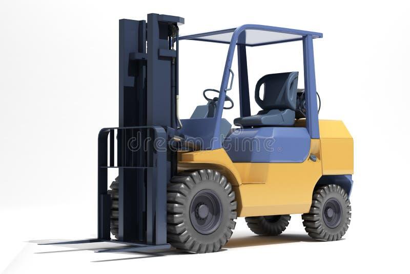 Download 铲车装载者特写镜头 库存例证. 插画 包括有 反映, 装载, 货物, 装货, 支架, 设备, 地堡, 没人 - 30333641