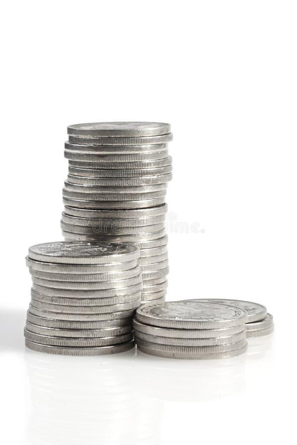 银币合金 免版税库存图片
