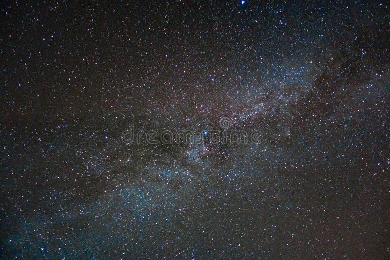银河在可西嘉岛 免版税库存照片
