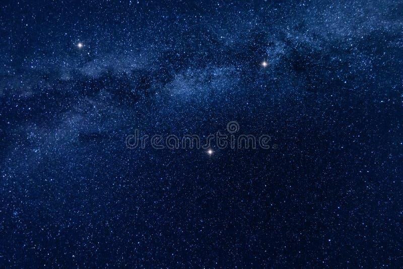 银河担任主角背景 免版税库存照片