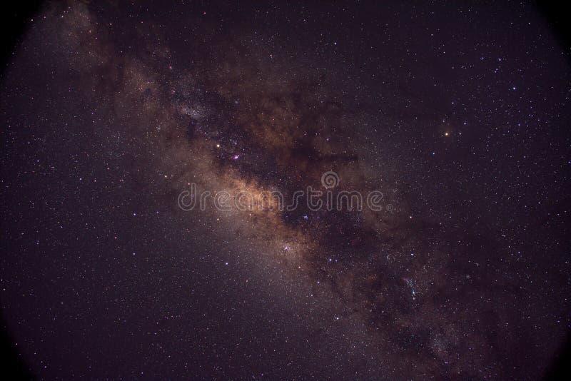 银河星系的中心 免版税库存图片