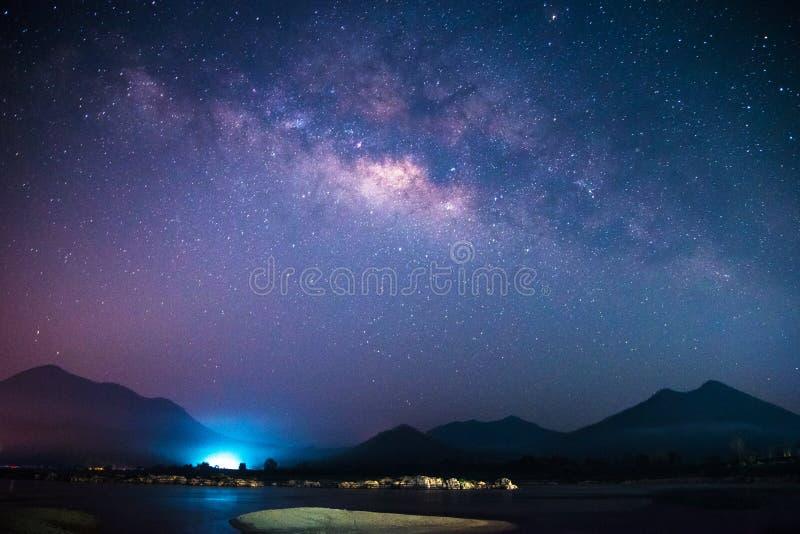 银河星系 库存照片