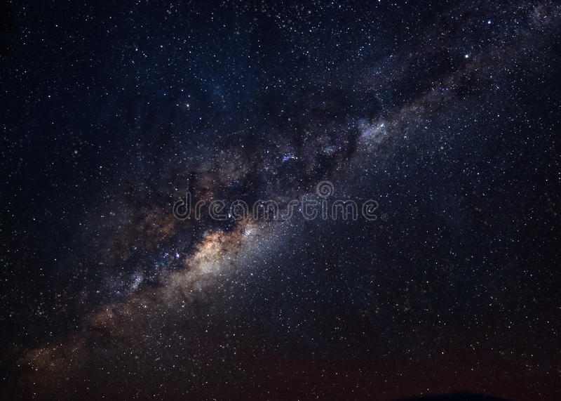 银河是我们的星系 此的要素 库存图片