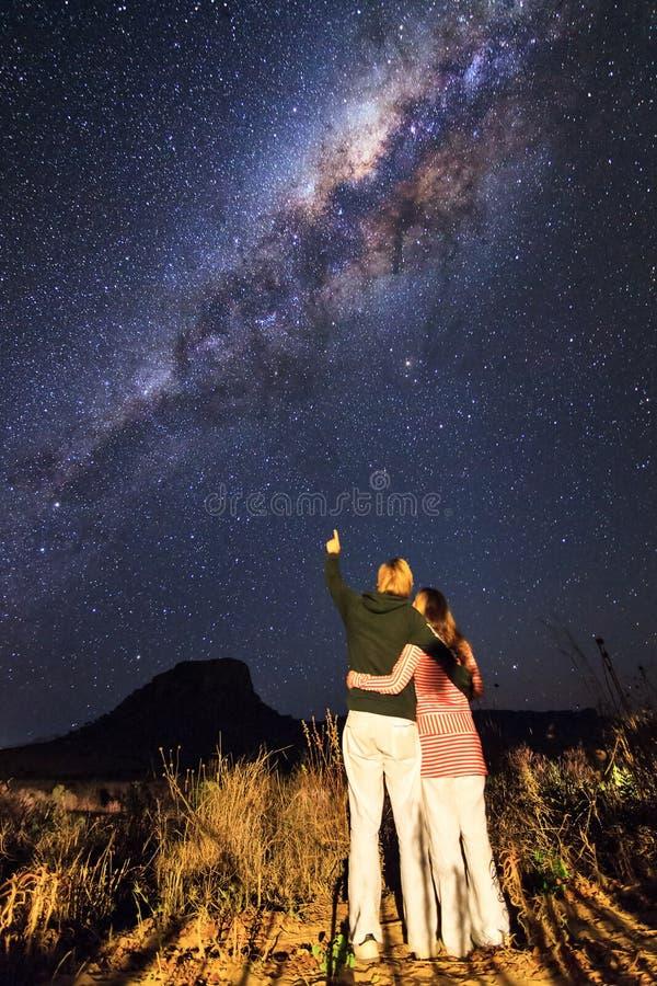 银河爱 免版税图库摄影