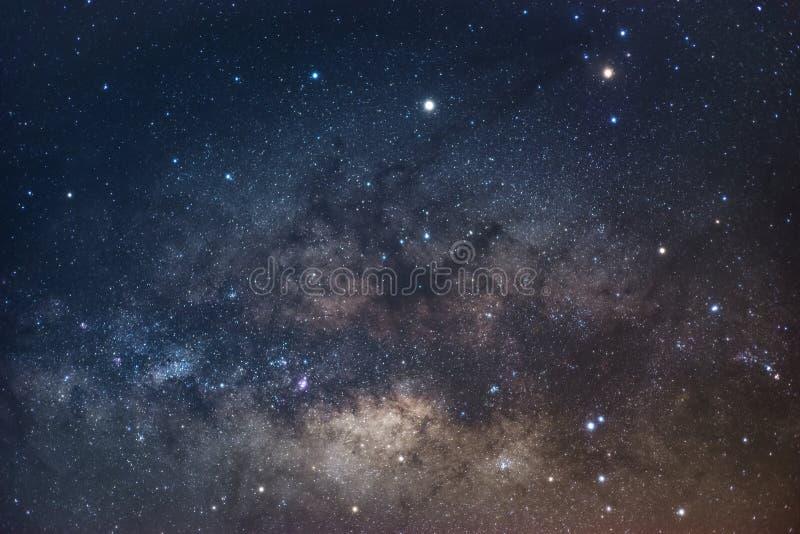 银河的中心,和神秘的物质和Antares 免版税库存照片