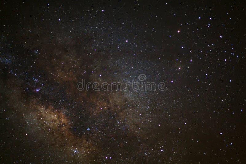 银河的Antares地区的一个广角看法 库存照片