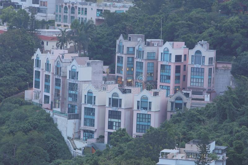 Download 银色子线的, Sai Kung豪华房子 图库摄影片 - 图片: 101457582
