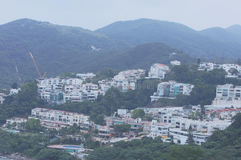 Download 银色子线的, Sai Kung豪华房子 编辑类库存照片 - 图片: 101458603