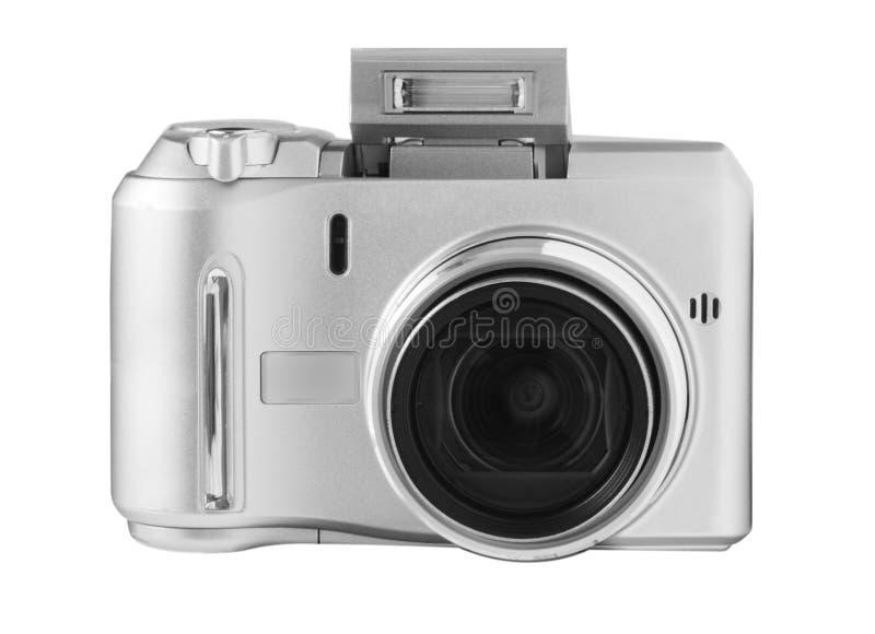 银色数字照相机 免版税库存照片