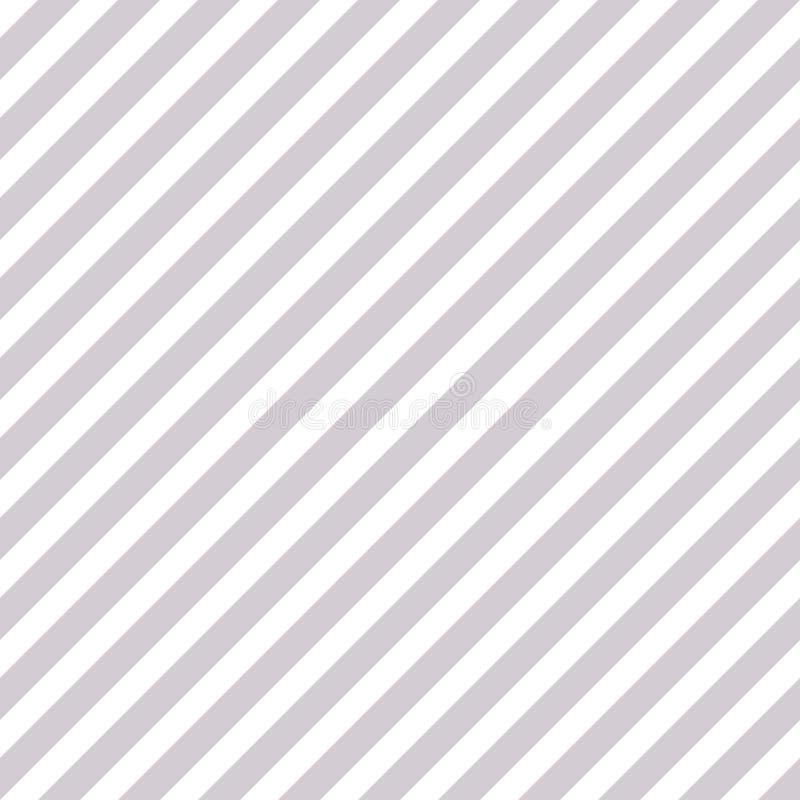 银色白色对角线镶边无缝的样式 库存例证