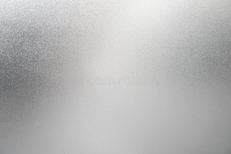 银色背景白色纹理淡色箔闪烁闪闪发光 免版税库存照片