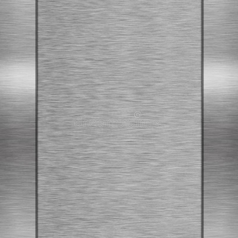 银色金属背景 库存照片