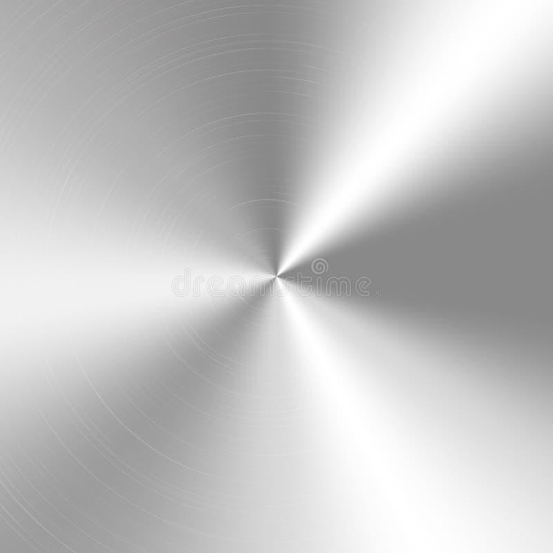 银色锥体梯度 皇族释放例证