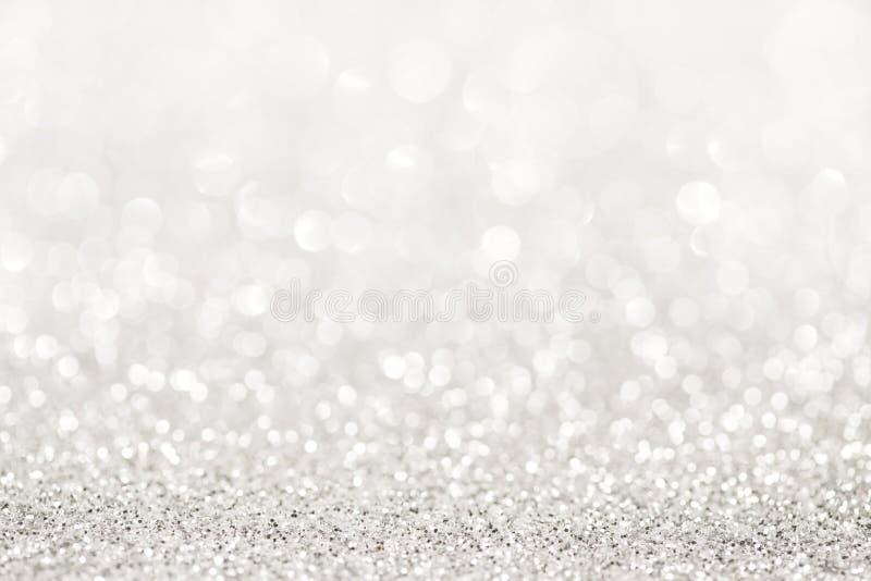 银色闪烁光 图库摄影