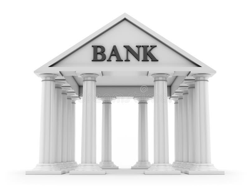 银行业务概念保证金百分比符号 皇族释放例证