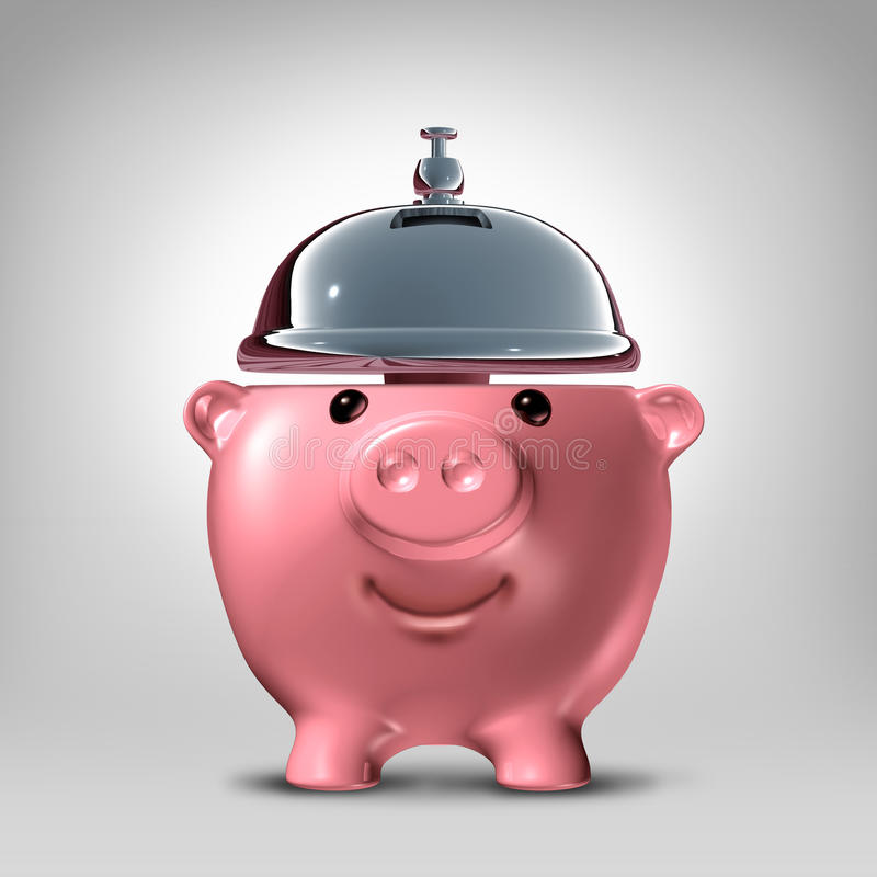 银行业务概念 向量例证