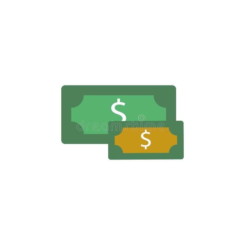 银行业务,现金象 网流动概念和网应用程序的金钱和银行业务象的元素 可以使用详述的银行业务,现金象 皇族释放例证