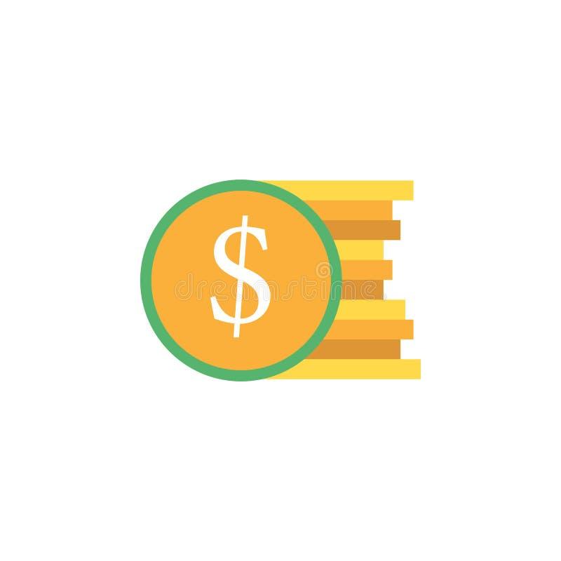 银行业务,货币,商务象 网流动概念和网应用程序的金钱和银行业务象的元素 详细的银行业务, 库存例证