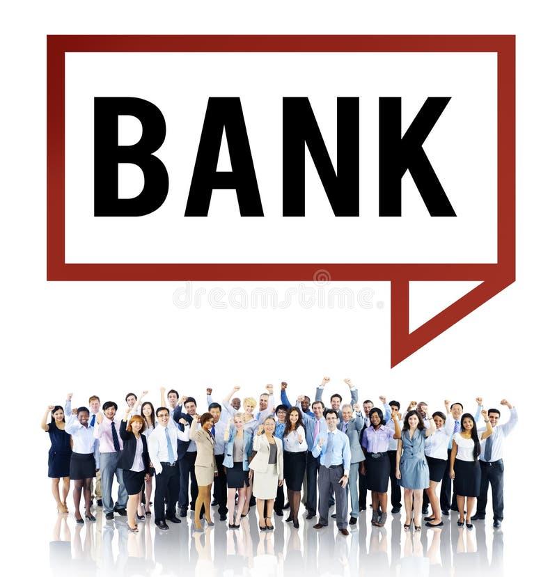 银行会计经济财务货币概念 皇族释放例证