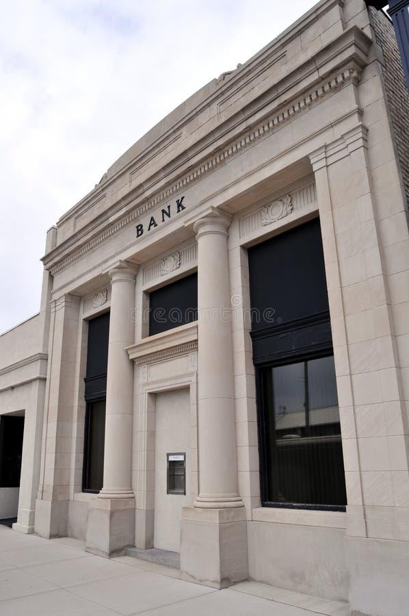 银行入口 图库摄影
