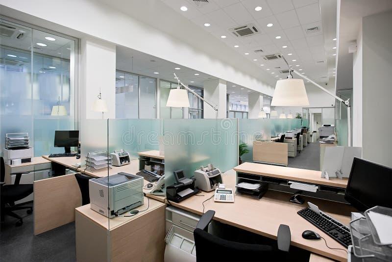 银行办公室 库存照片