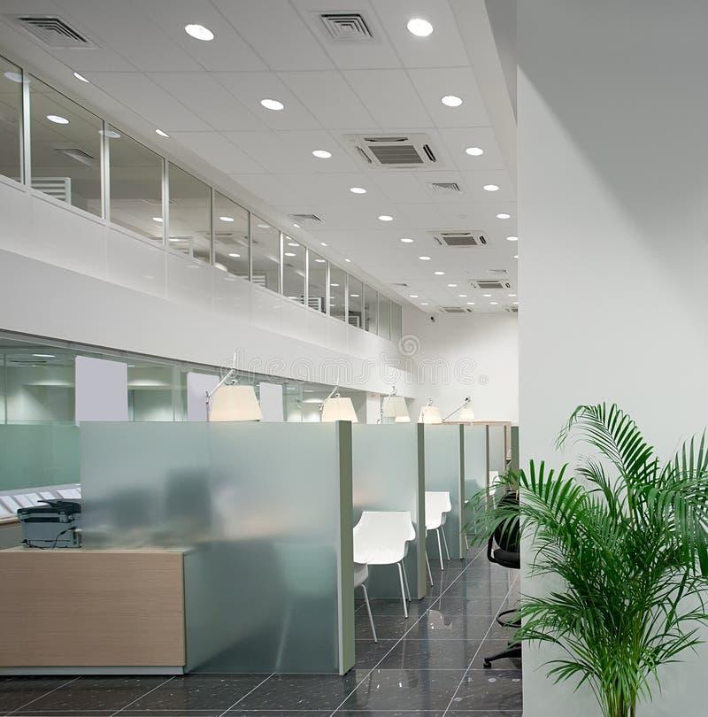 银行办公室 免版税库存图片