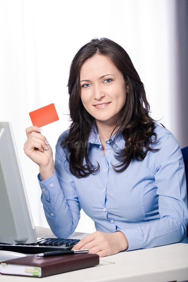 银行卡 免版税库存图片