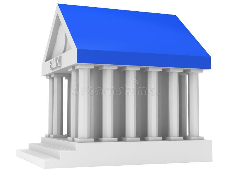 银行大楼 库存例证