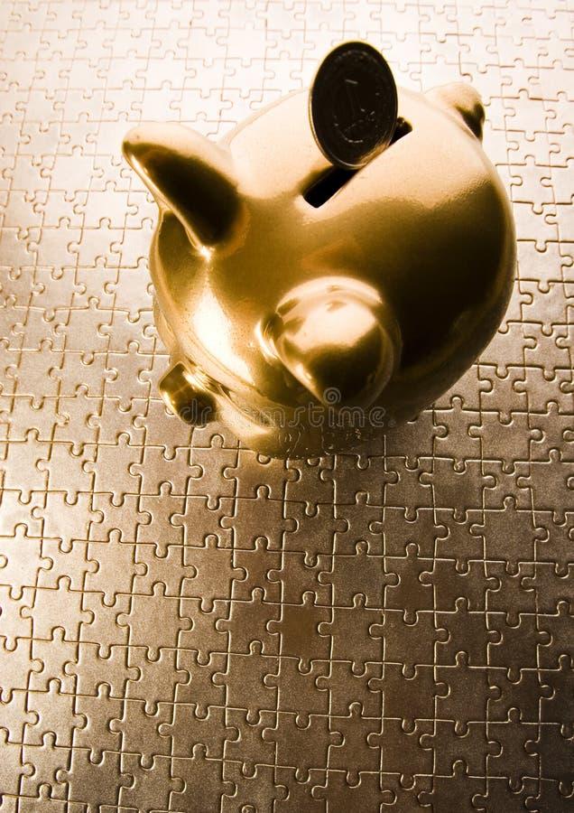 银行pigg 免版税库存图片