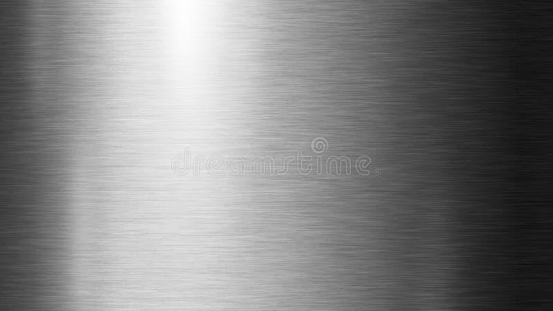 银金属纹理背景图 库存图片