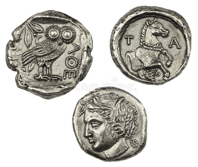 铸造希腊 免版税库存照片