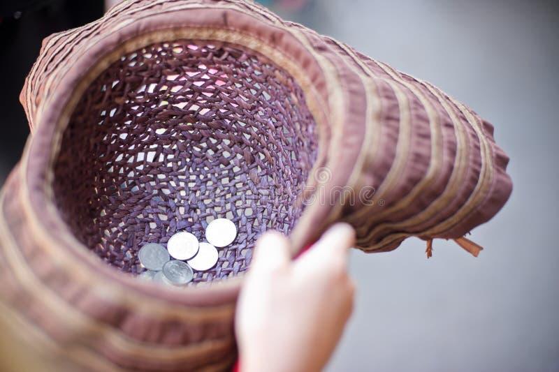 铸造帽子 免版税图库摄影