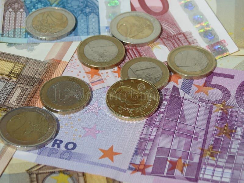 铸造欧洲附注 库存照片