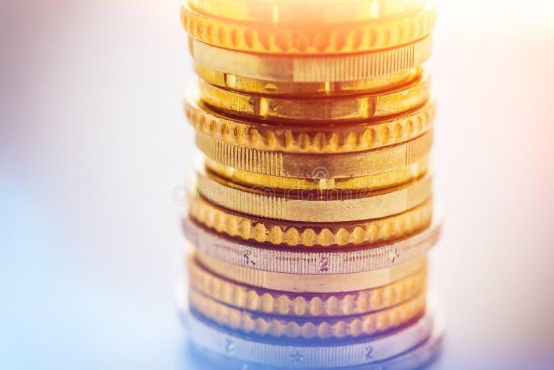 铸造欧洲堆 免版税库存照片