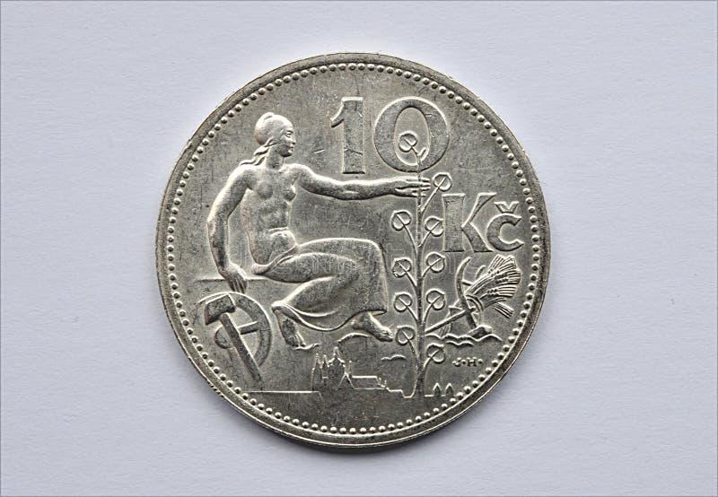 铸造老银 免版税库存图片