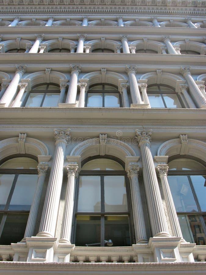 铸铁大厦,苏活区,纽约 免版税库存图片